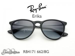 Kính cận râm Rayban Erika RB4171
