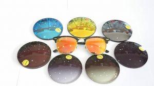 25 màu mắt kính râm cận tại Vin Eye