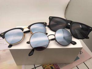 Khách shopee mở hàng 3 chiếc kính râm cận cực đẹp
